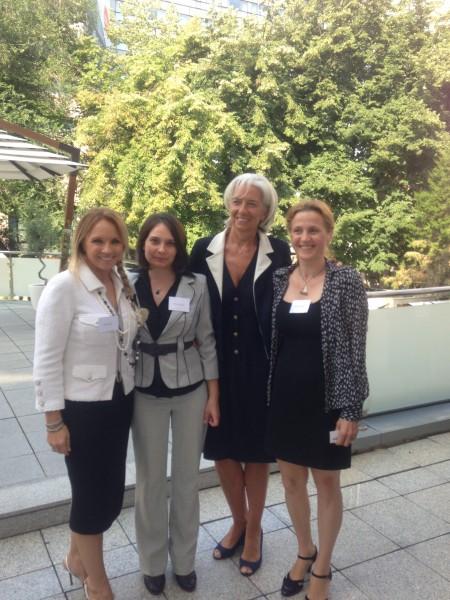 Breakfast with Christine Lagarde   Alex Fund