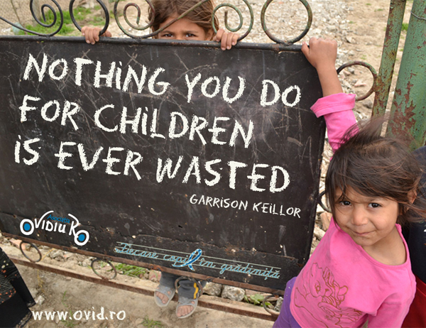 nothing you do for children is ever waste castldu by ol  EN