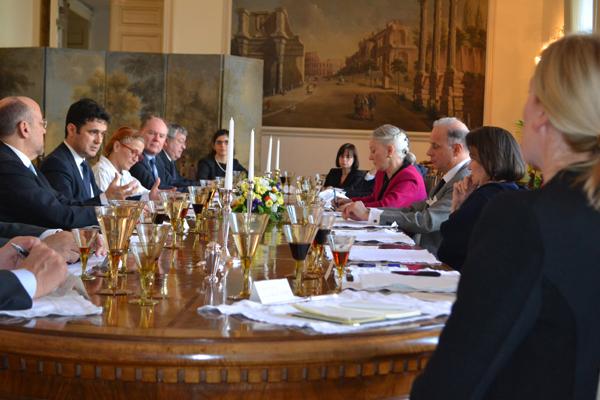 ambassadors meeting by oana stanescu